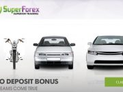 Superforex No Deposit Bonus