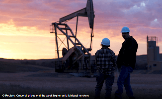 Crude Oil Weekly update- October 23 - 27
