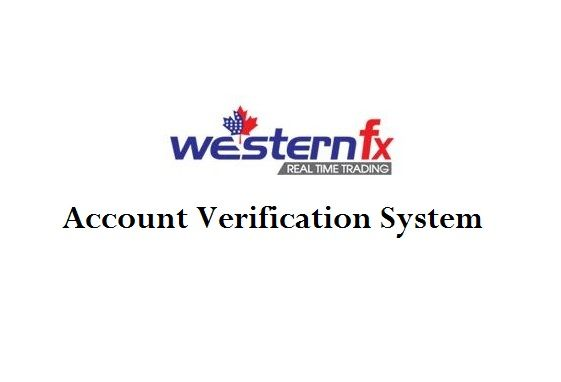 WesternFx Account Verification
